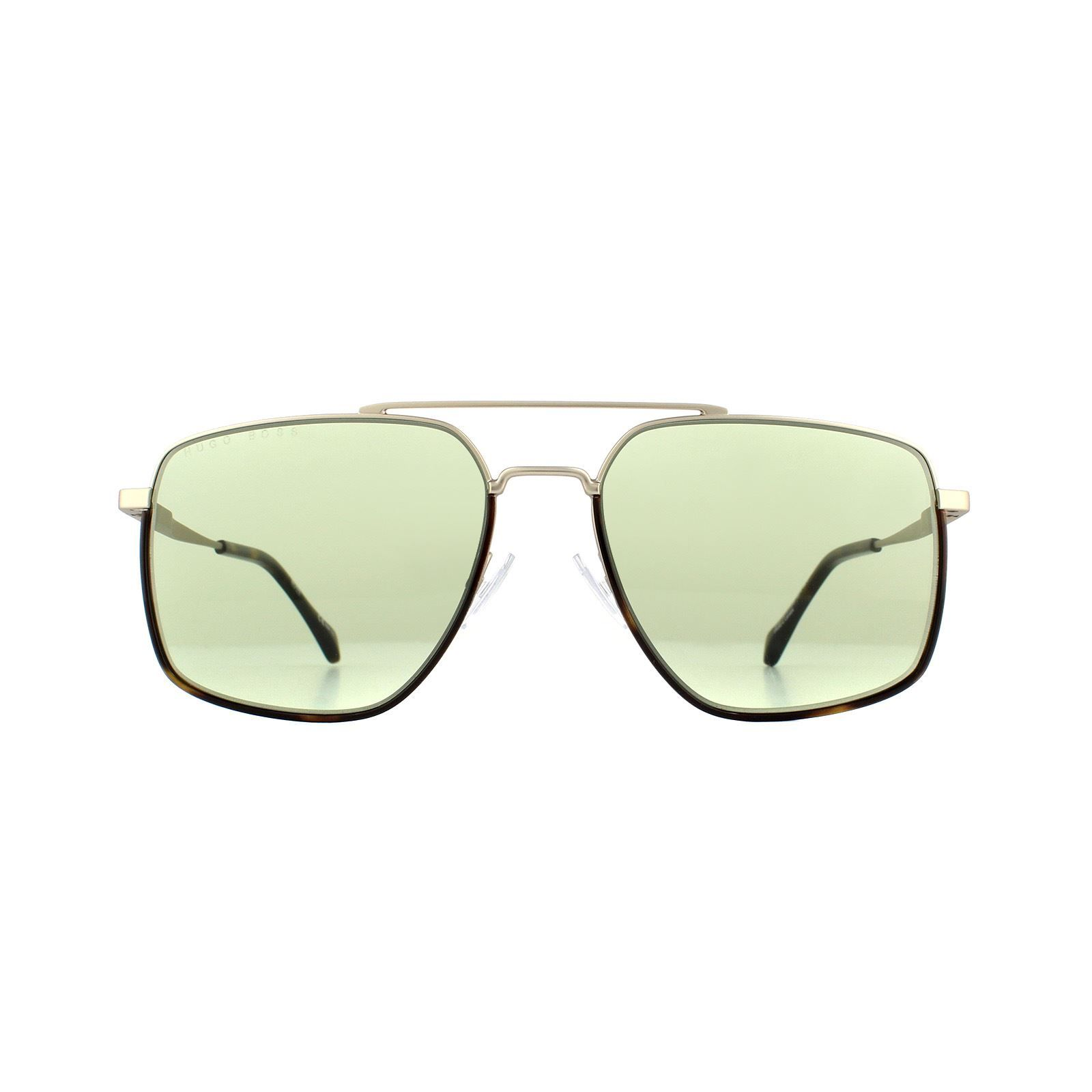Hugo Boss Sunglasses 1091/S CGS GP Light Gold Green