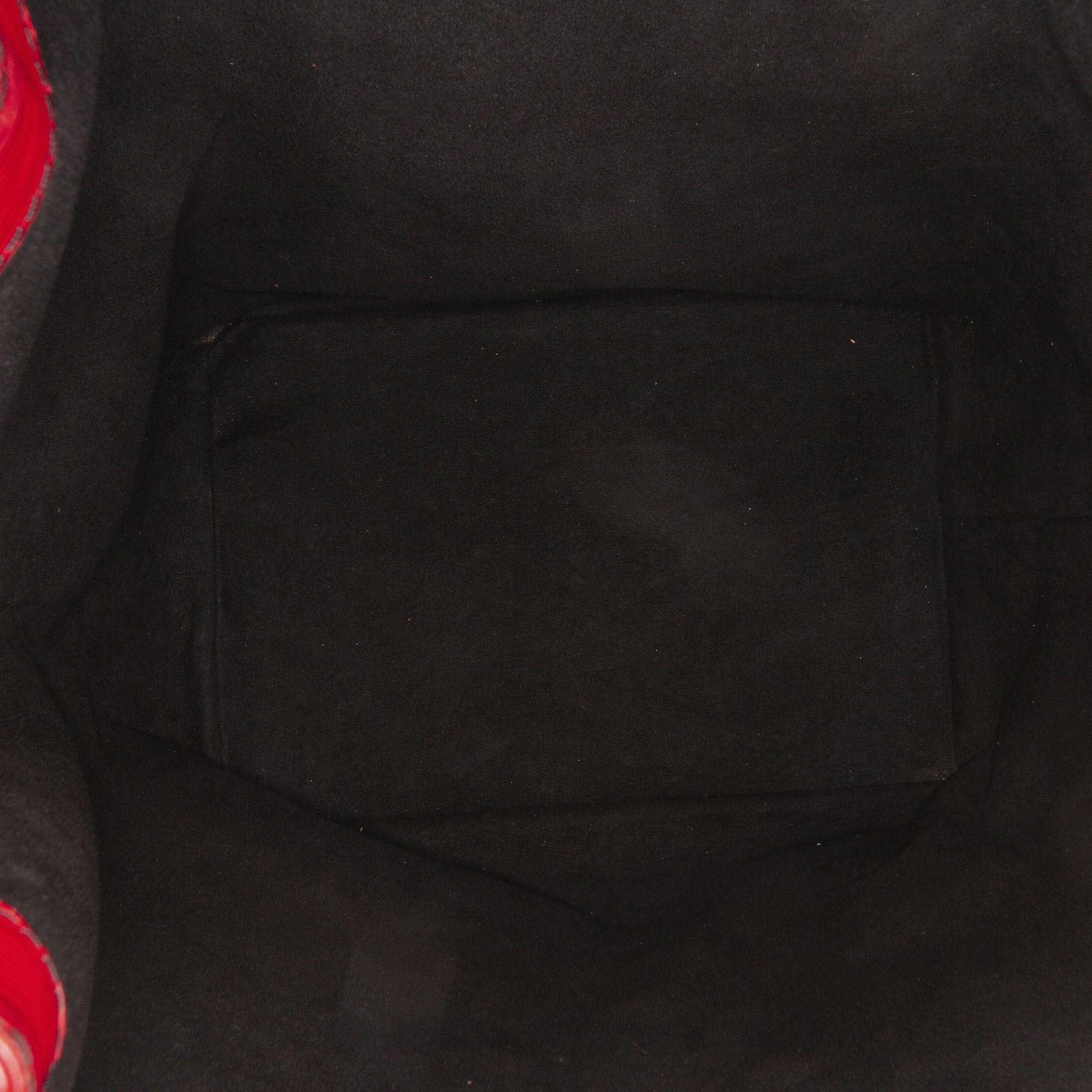 Vintage Louis Vuitton Epi Tricolor Noe Red