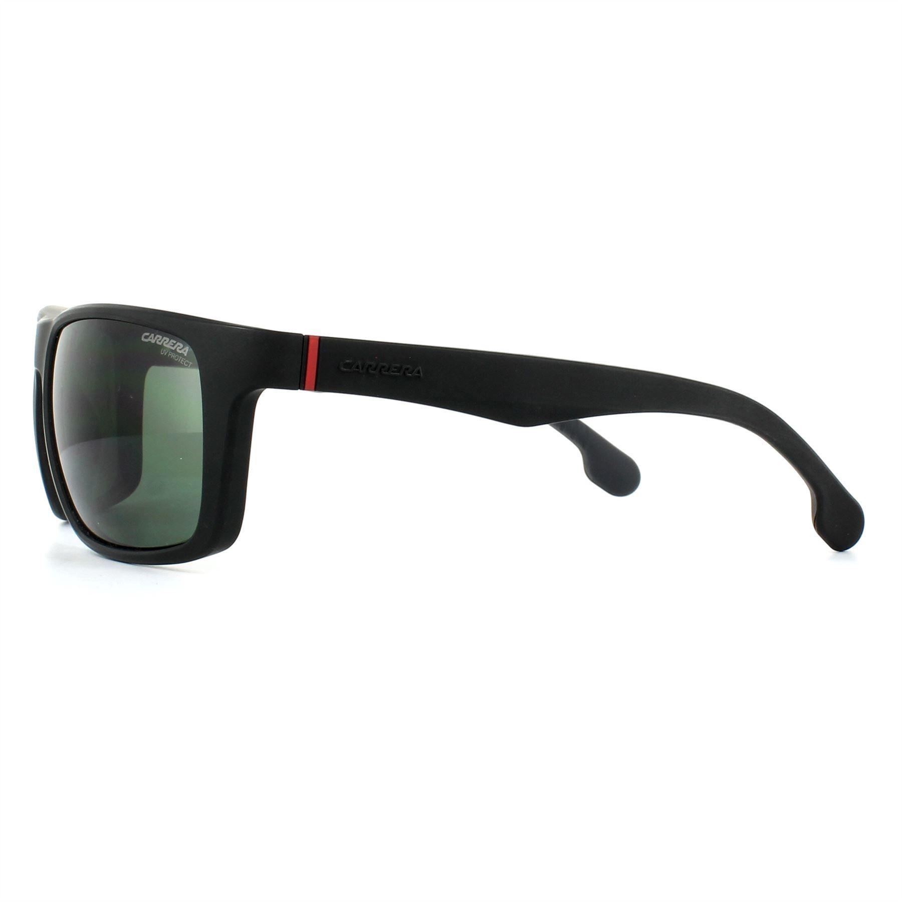Carrera Sunglasses 8027/S 003 QT Matt Black Green