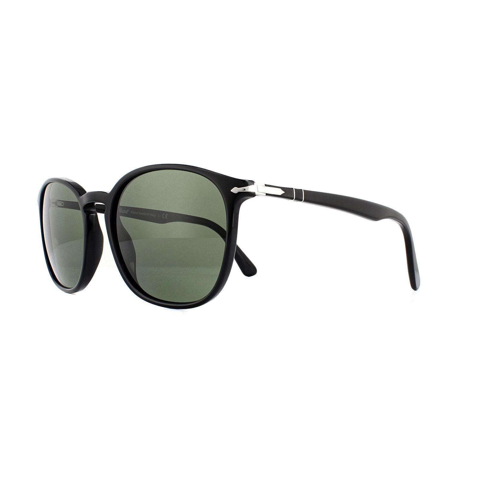 Persol Sunglasses PO3215S 95/31 Black Green 57mm