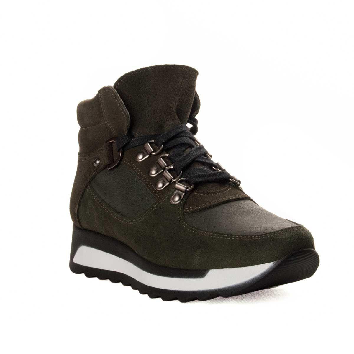Montevita Sneaker Boot in Green