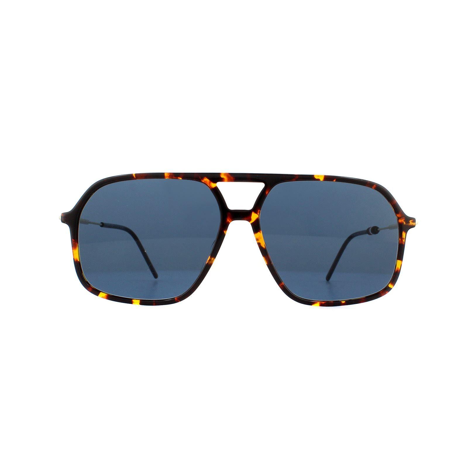 Tommy Hilfiger Sunglasses Th 1645/S 086 Ku Dark Havana Blue Avio