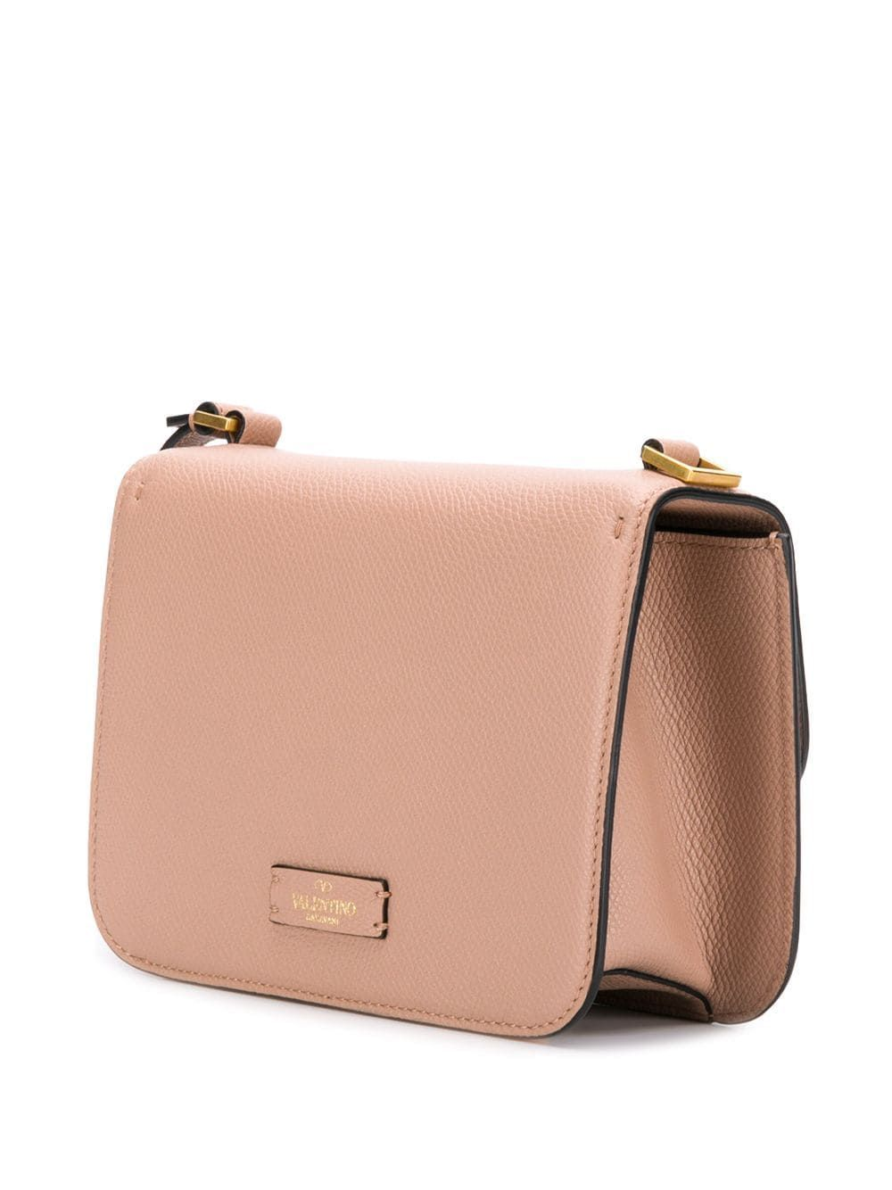 VALENTINO WOMEN'S TW2B0F01RQRGF9 PINK LEATHER SHOULDER BAG
