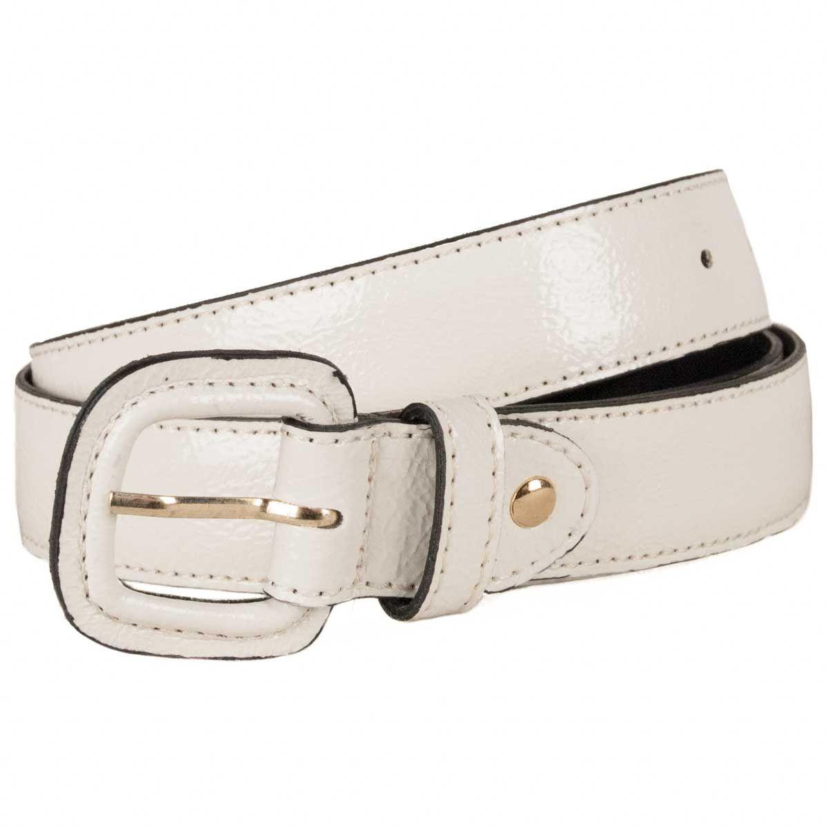 Montevita Casual Quality Belt in White