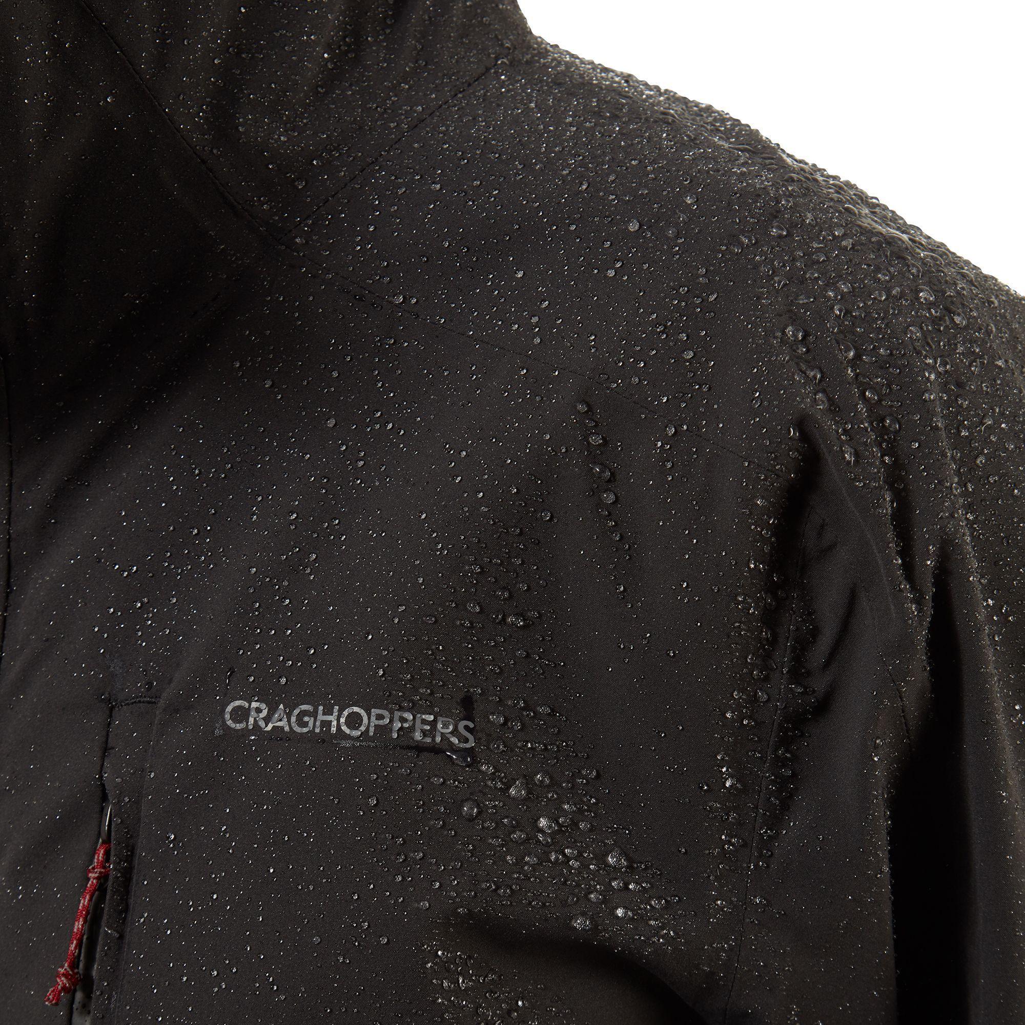 Craghoppers Mens Lorton Jacket (Black Pepper)