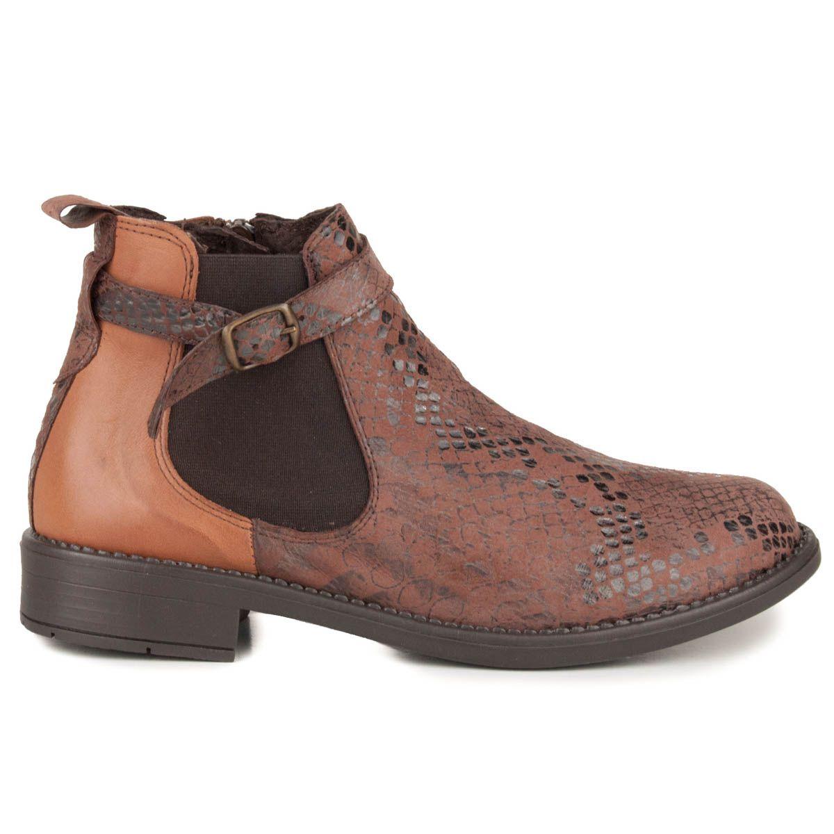 Montevita Chelsea Boot in Brown