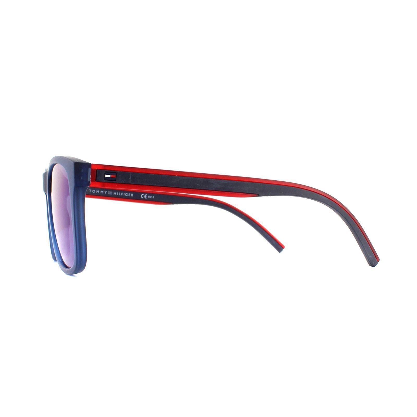 Tommy Hilfiger Sunglasses Th 1493/S Pjp Xt Blue Blue Sky Mirror