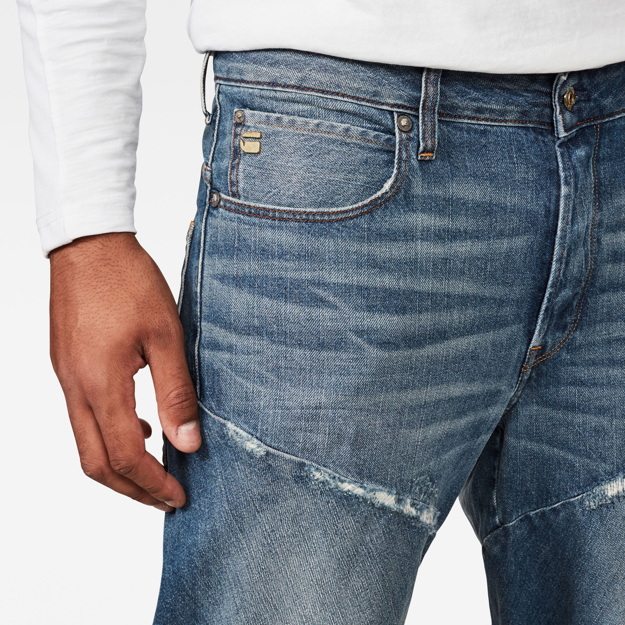 G-Star RAW Spiraq 3D Relaxed Straight Jeans
