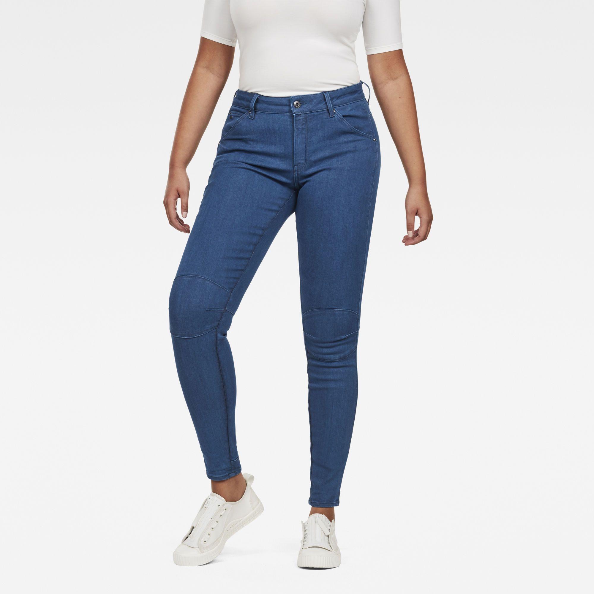 G-Star RAW 5622 G-Star Shape High Waist Super Skinny Jeans
