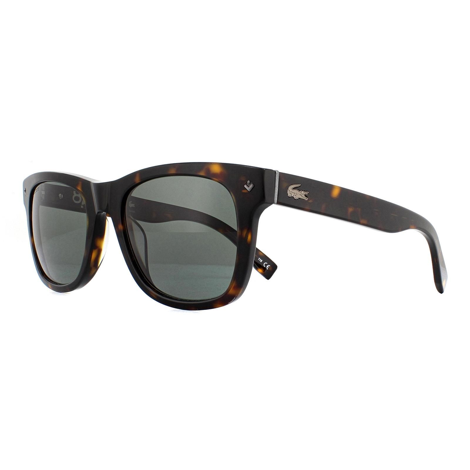 Lacoste Sunglasses L878S 214 Dark Havana Grey