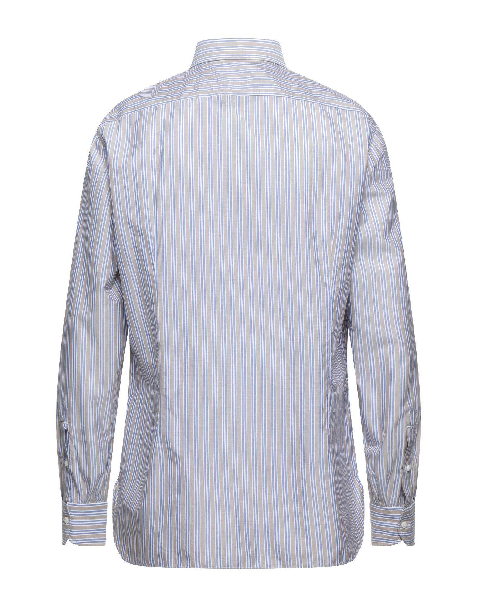 Luigi Borrelli Napoli Man Shirts Cotton