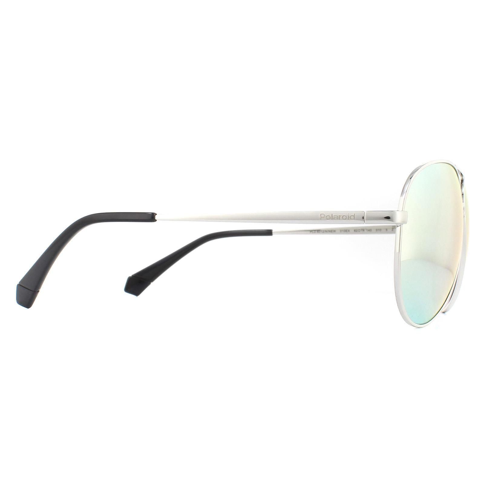 Polaroid Sunglasses 6012/N/NEW 010 EX Palladium Grey Silver Mirror Polarized