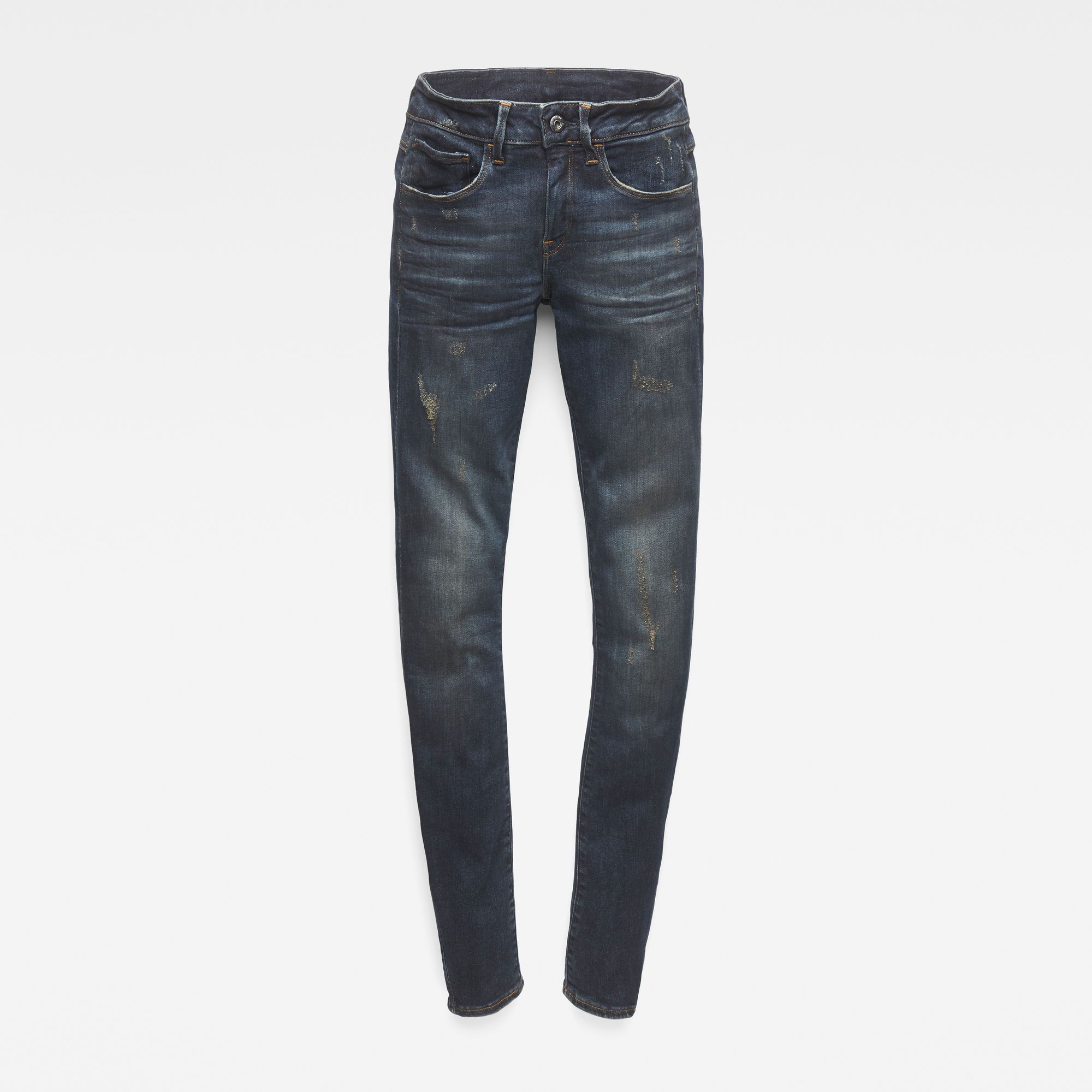 G-Star RAW 3301 Deconstructed Mid Waist Straight Jeans