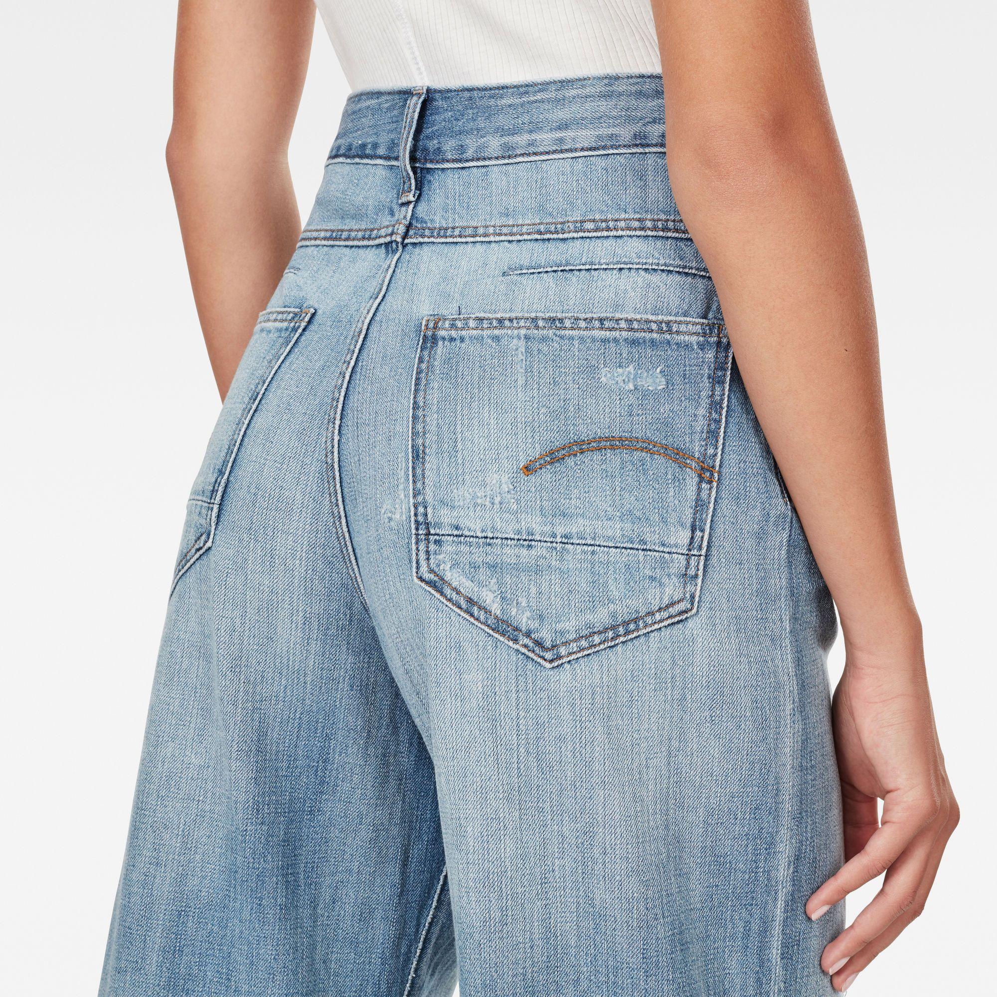 G-Star RAW D-Staq 5-Pocket High Waist Wide Leg Jeans
