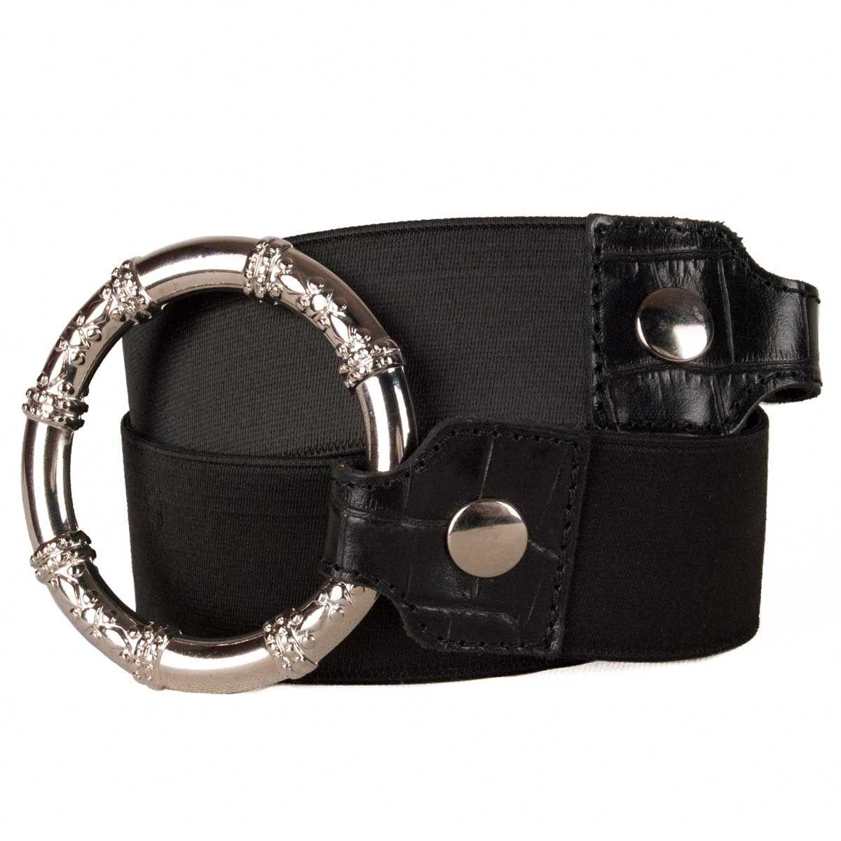 Montevita Casual Quality Belt in Black