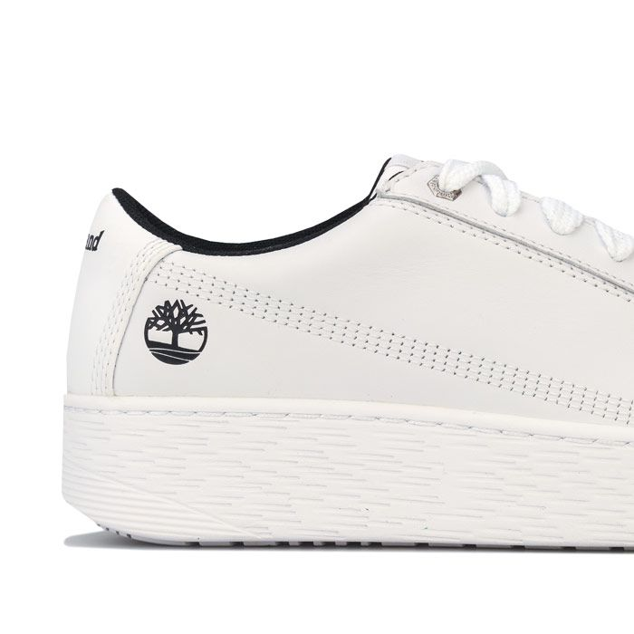 Women's Timberland Marblesea Leather Trainers in White