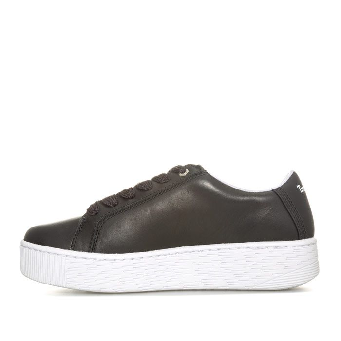 Women's Timberland Marbelesa Leather Trainers in Black