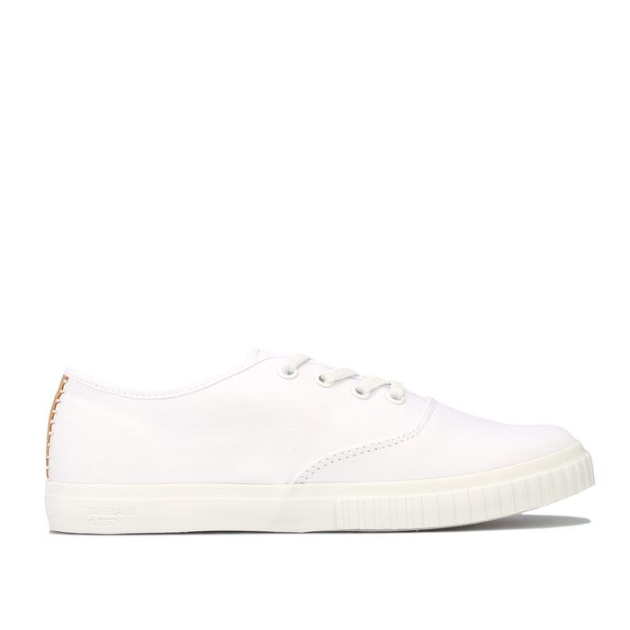 Women's Timberland Newport Bay Bumper Toe Ox Trainers in White