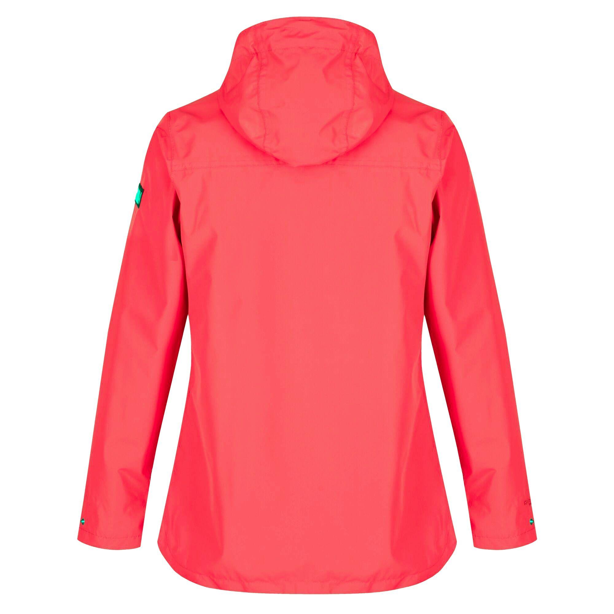 Regatta Womens/Ladies Bertille Waterproof Jacket (Red Sky Solid)