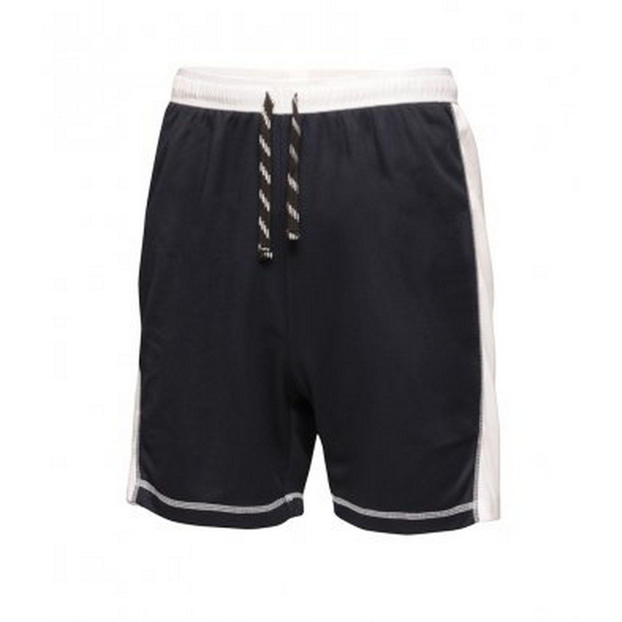 Regatta Activewear Mens Tokyo II Contrast Shorts (Navy/White)