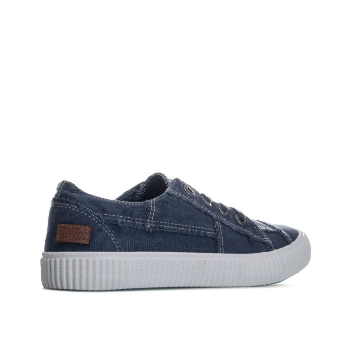 Womens Blowfish Cablee Canvas Pumps In Navy