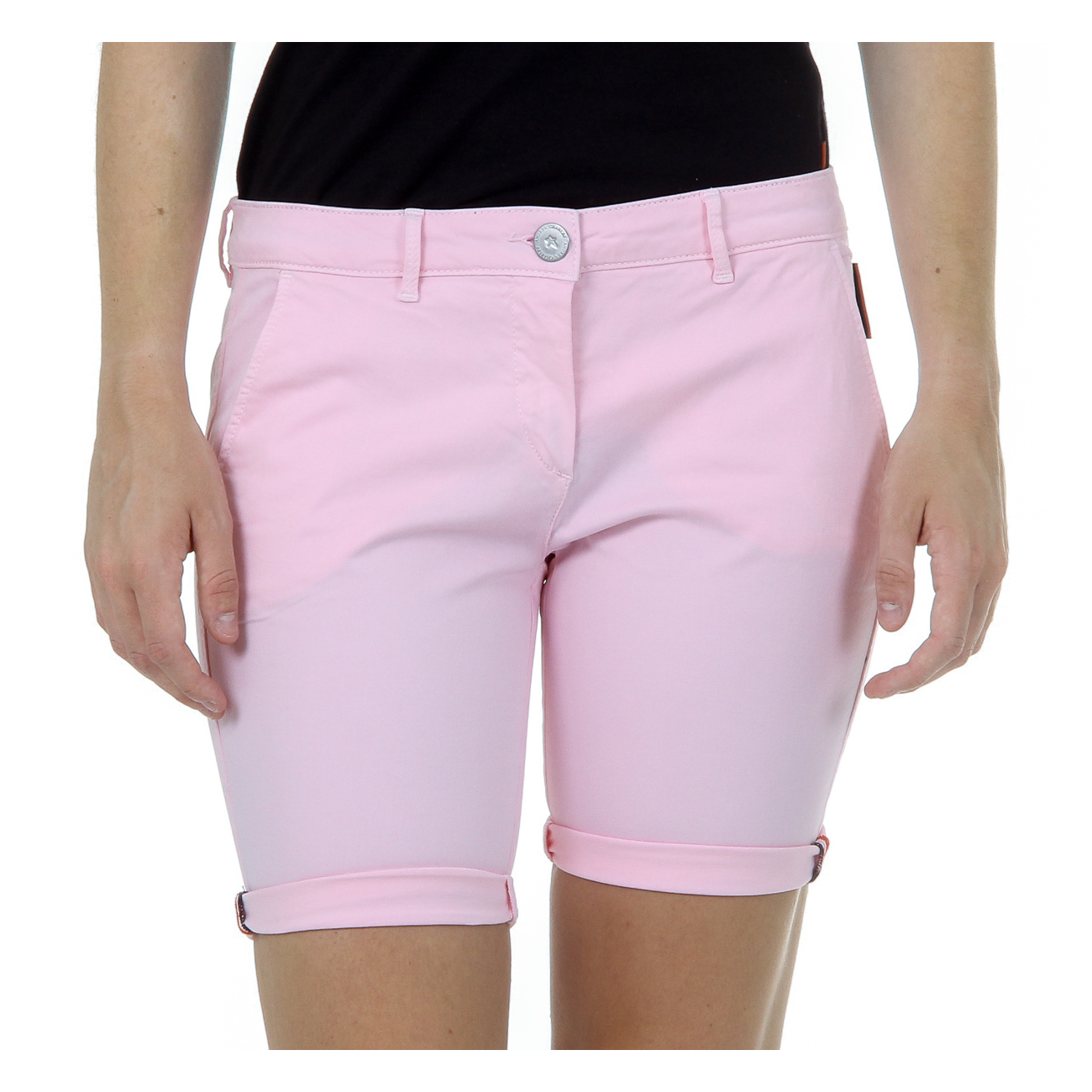 Andrew Charles Womens Shorts Pink SAFIA