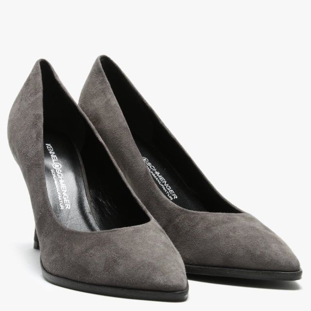 Kennel & Schmenger Camille Suede Court Shoes