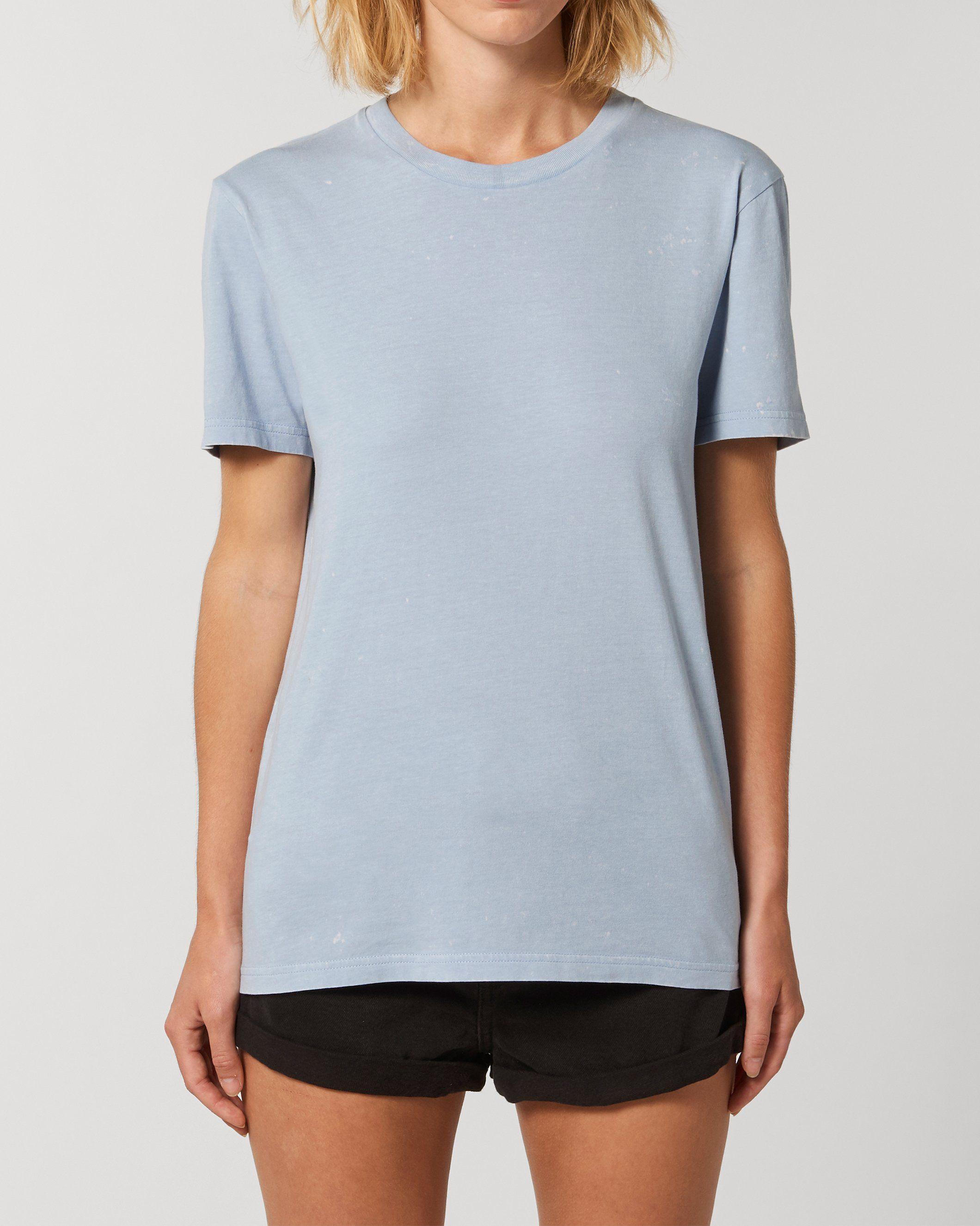 Nati-Neti Unisex Garment Dyed T-Shirt in Blue