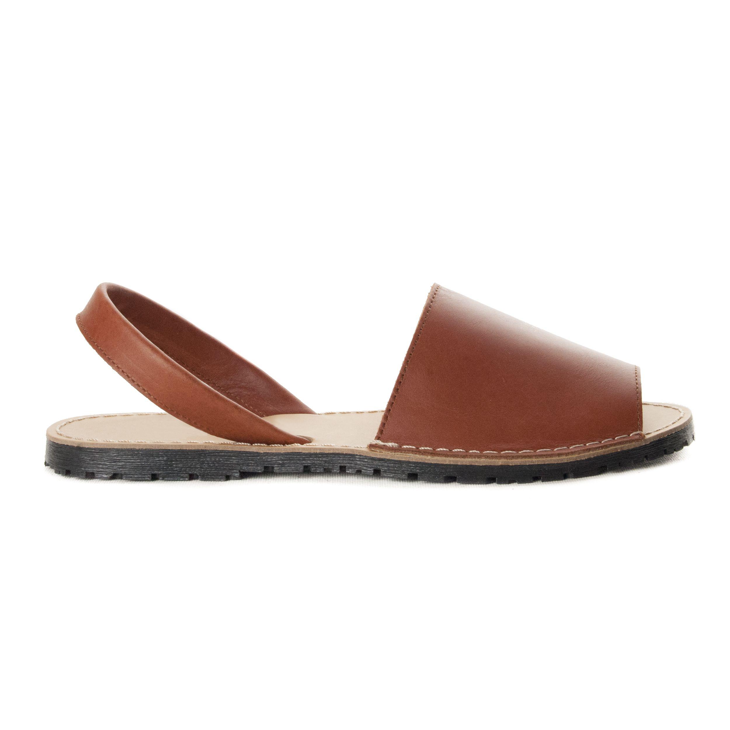 Montevita Slingback Flat Sandal in Camel