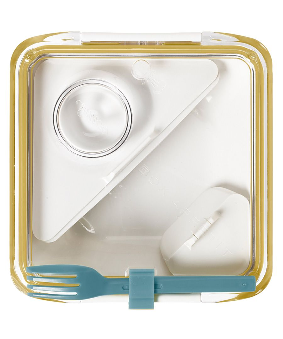 Box Appetit white & honey lunchbox