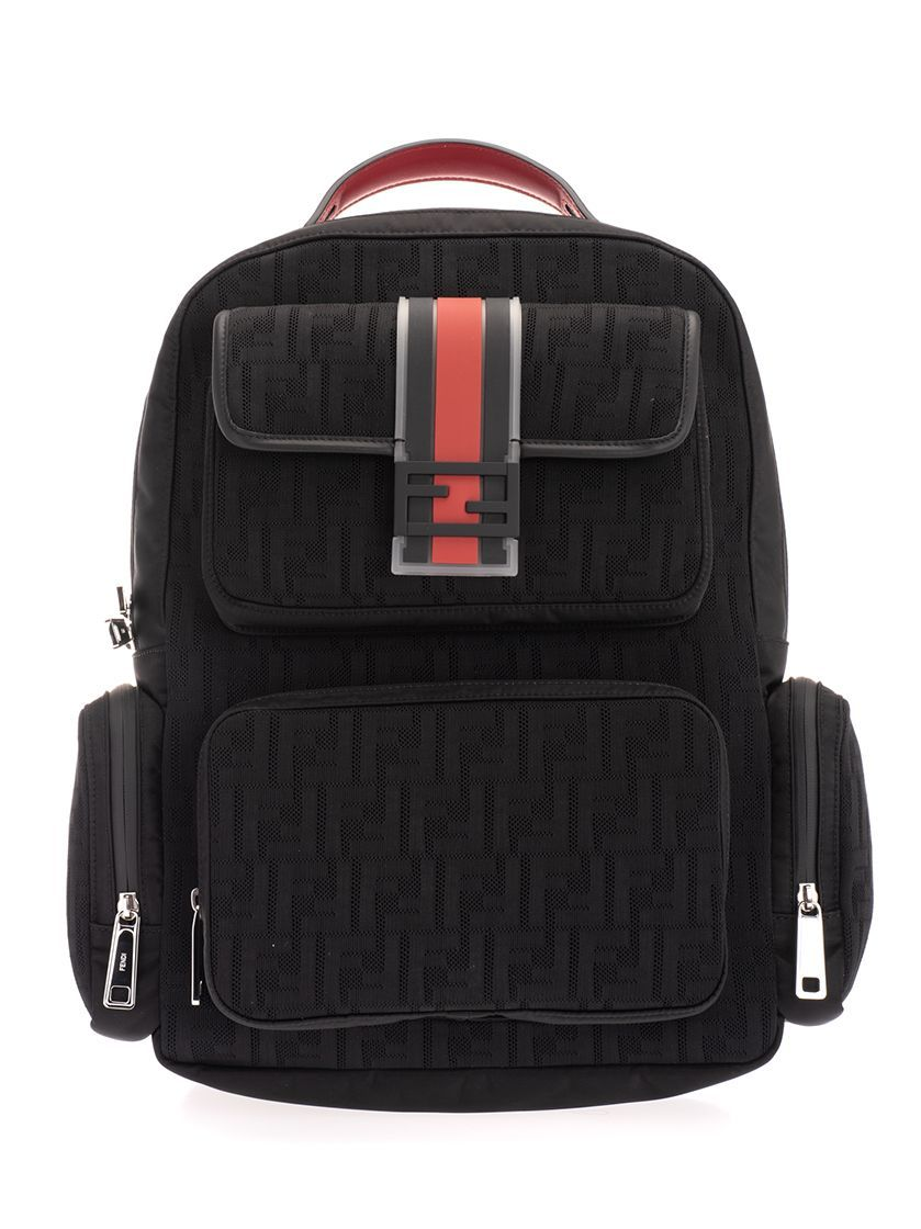 FENDI MEN'S 7VZ048AA3XF0GXN BLACK POLYAMIDE BACKPACK