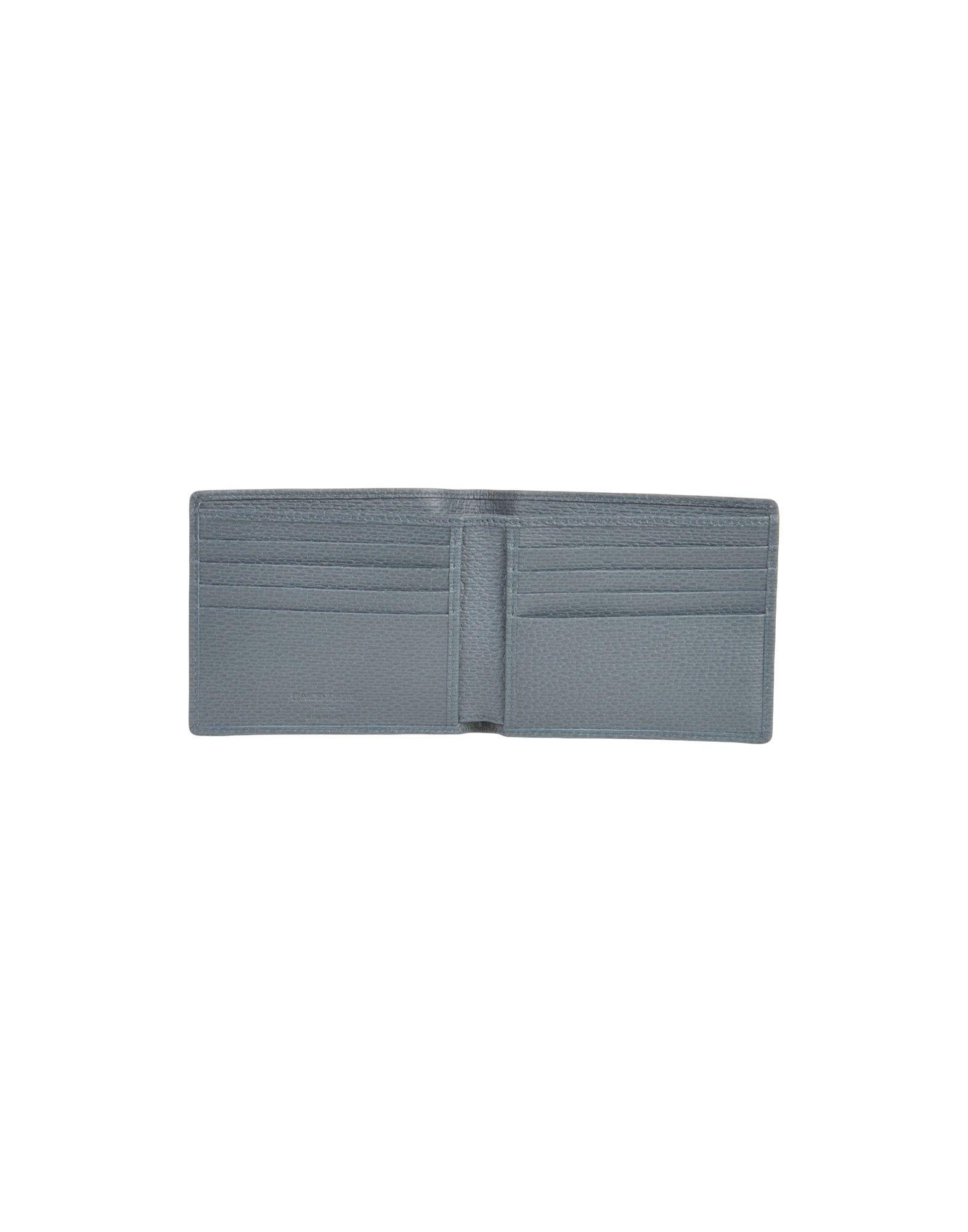 Giorgio Armani Textured Leather Wallet
