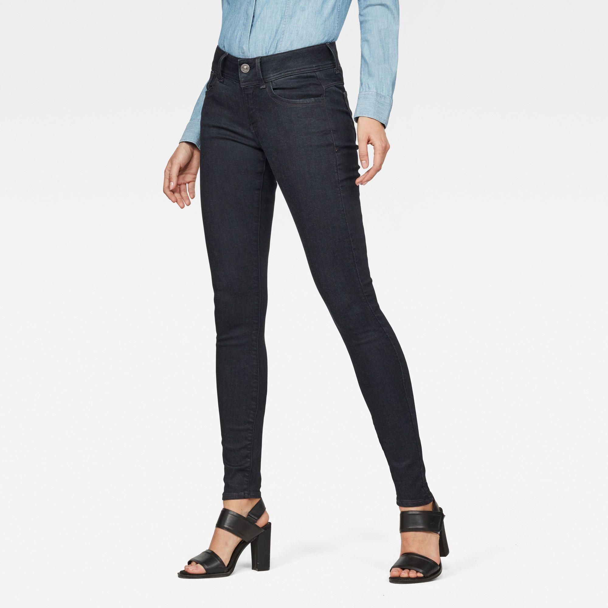 G-Star RAW Lynn D-Mid Super Skinny Jeans