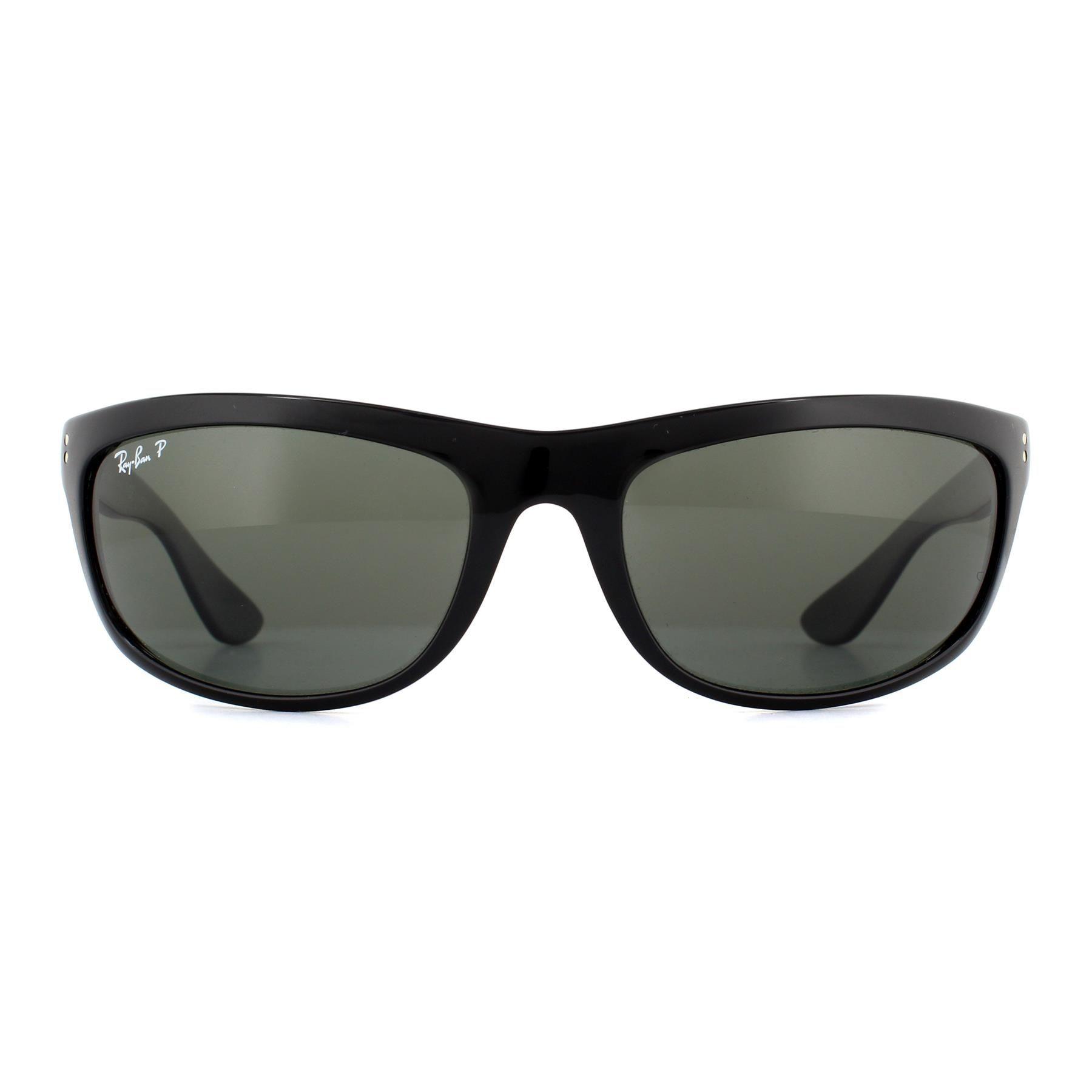 Ray-Ban Sunglasses Balorama 4089 601/58 Black Polarized
