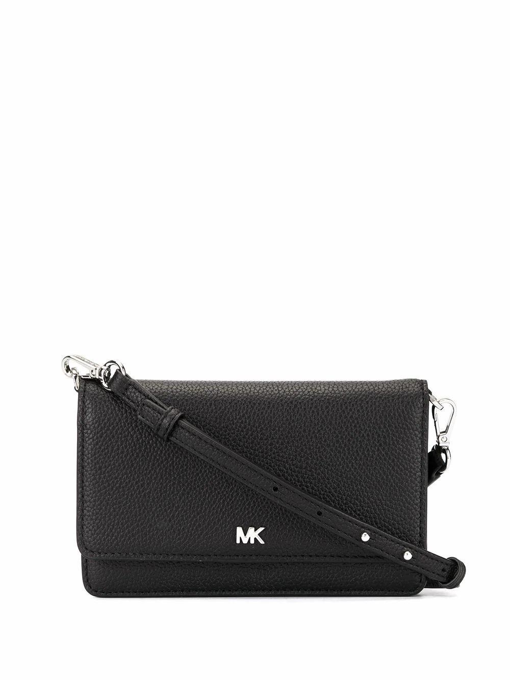 MICHAEL KORS WOMEN'S 32T8SF5C1L001 BLACK LEATHER SHOULDER BAG