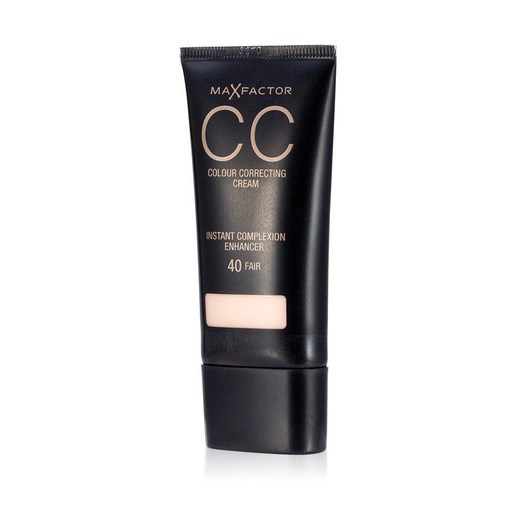 2 x Max Factor CC Colour Correcting Cream SPF10 30ml Sealed - 40 Fair