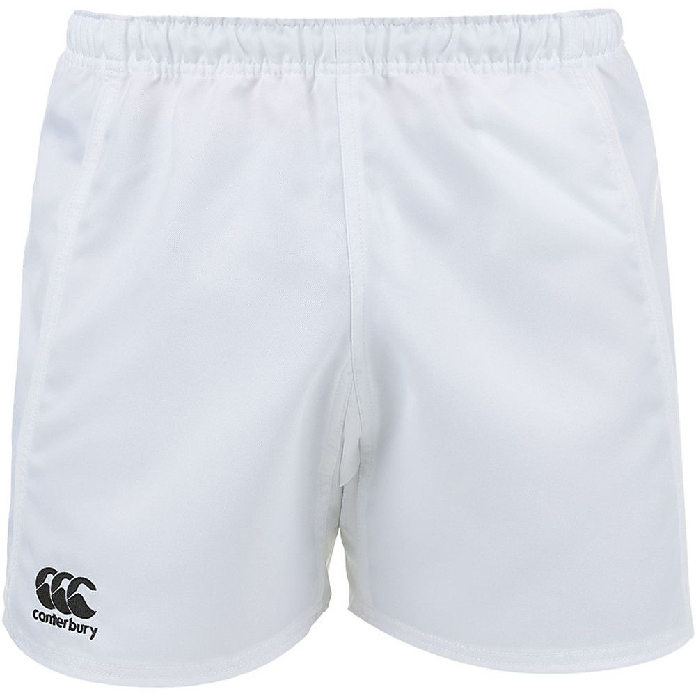 Canterbury Mens Advantage Polyester CCC Embroidered Logo Shorts