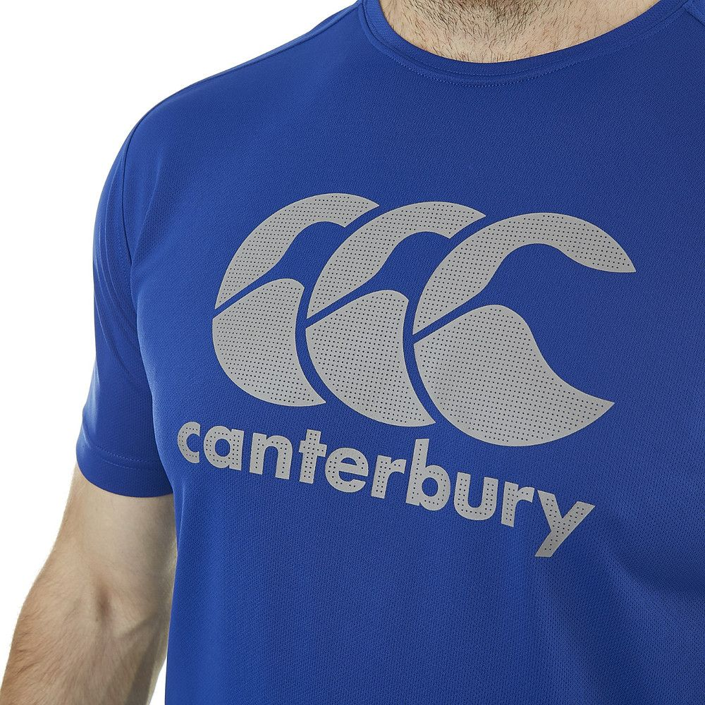 Canterbury Mens Core Vapodri Breathable Wicking Graphic Logo T Shirt
