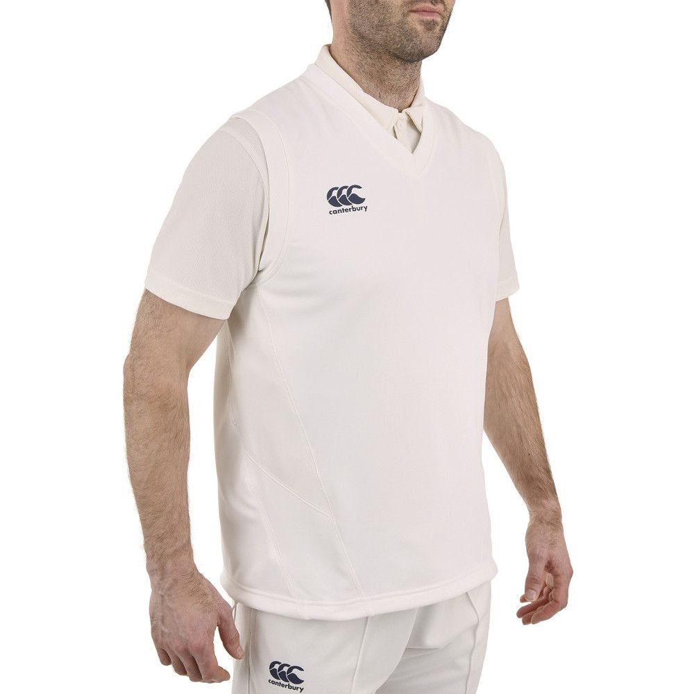 Canterbury Mens Sleeveless Cricket Overshirt / Sweater Vest