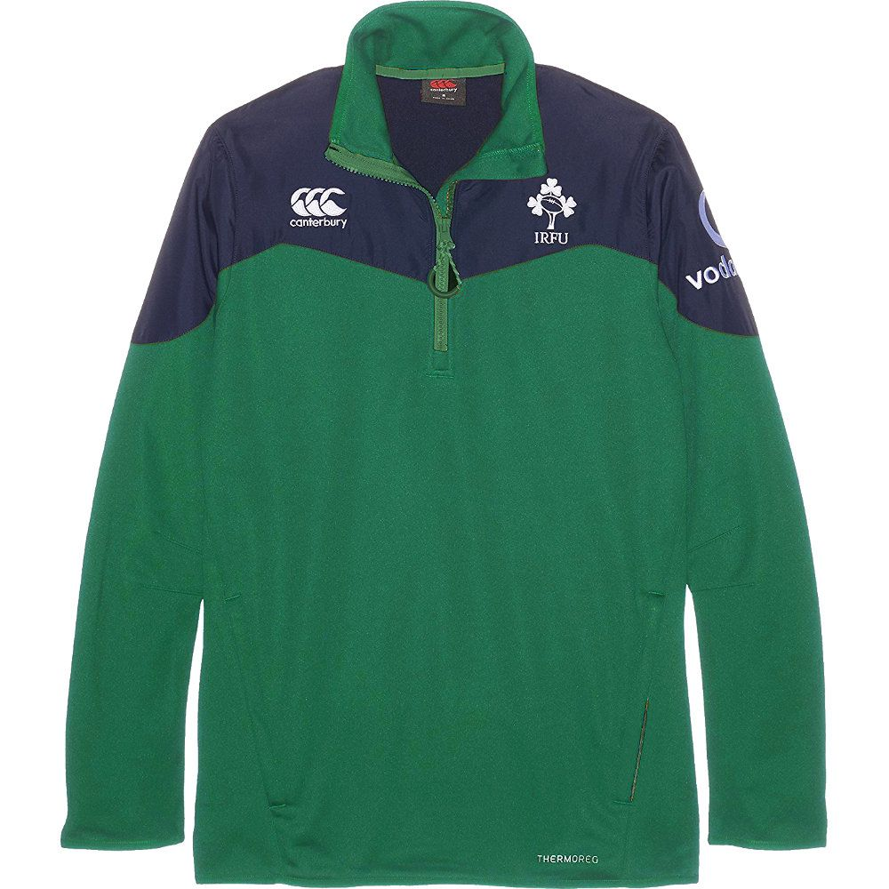 Canterbury Mens & Boys Ireland Thermal Layer Rugby Training Top