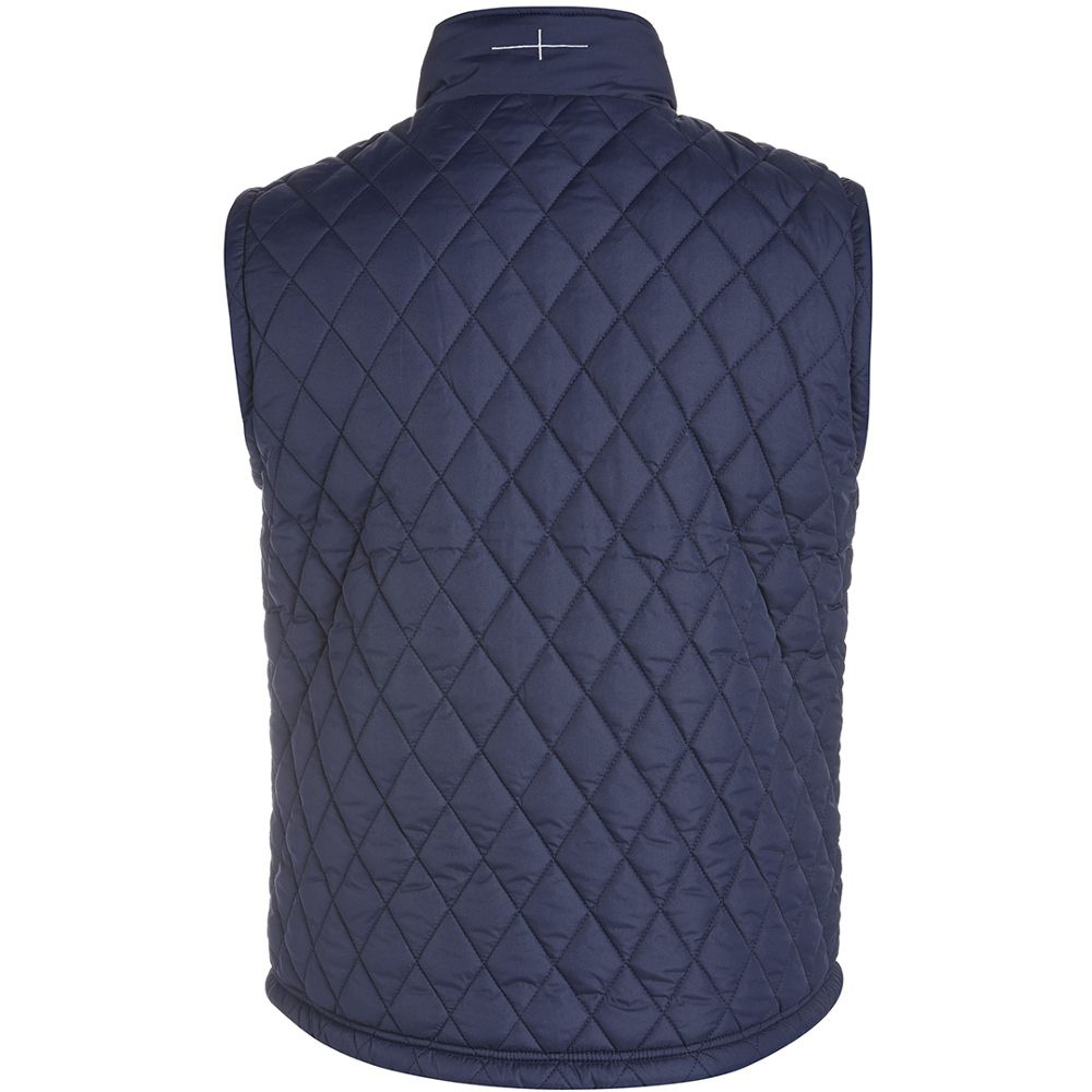 Canterbury Mens England Diamond Quilted Padded Rugby Gilet Bodywarmer