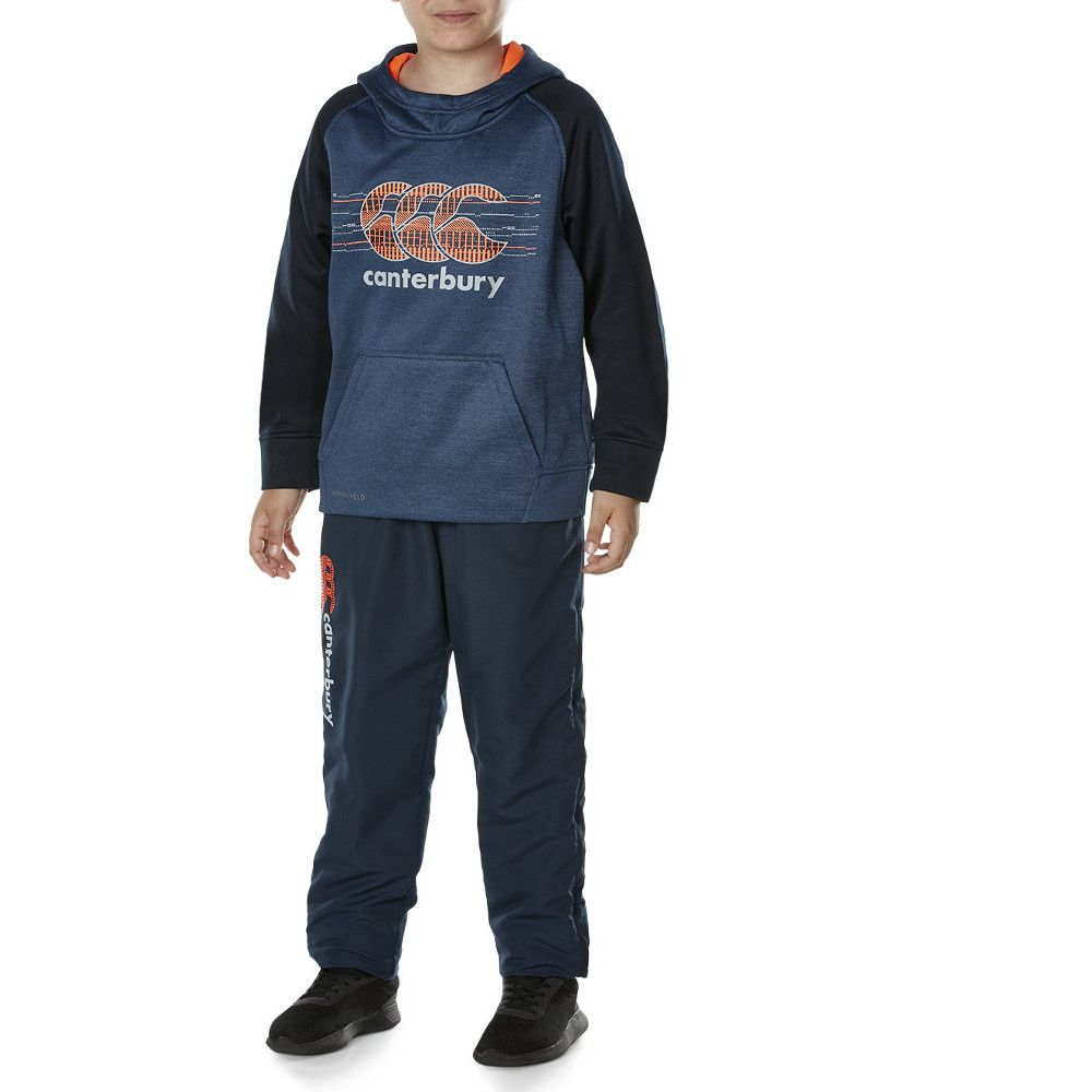 Canterbury Clothing Boys Tapered Cuff Woven Side Seam Casual Trousers