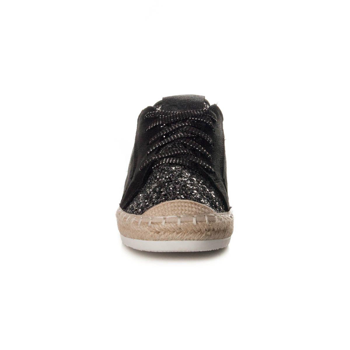 Montevita Wedge Sandal in Black