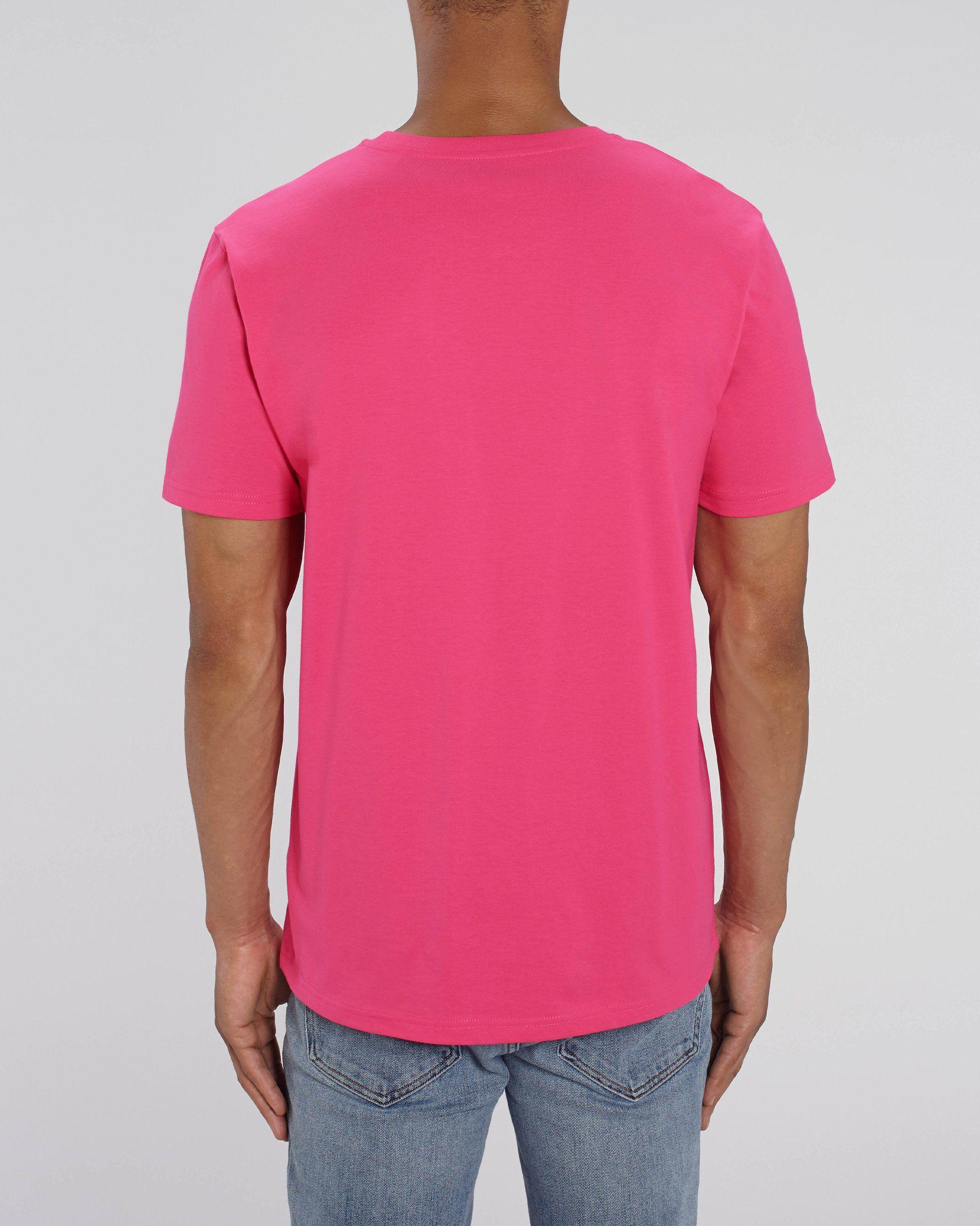 Nauli Unisex Regular Fit T-Shirt in Pink