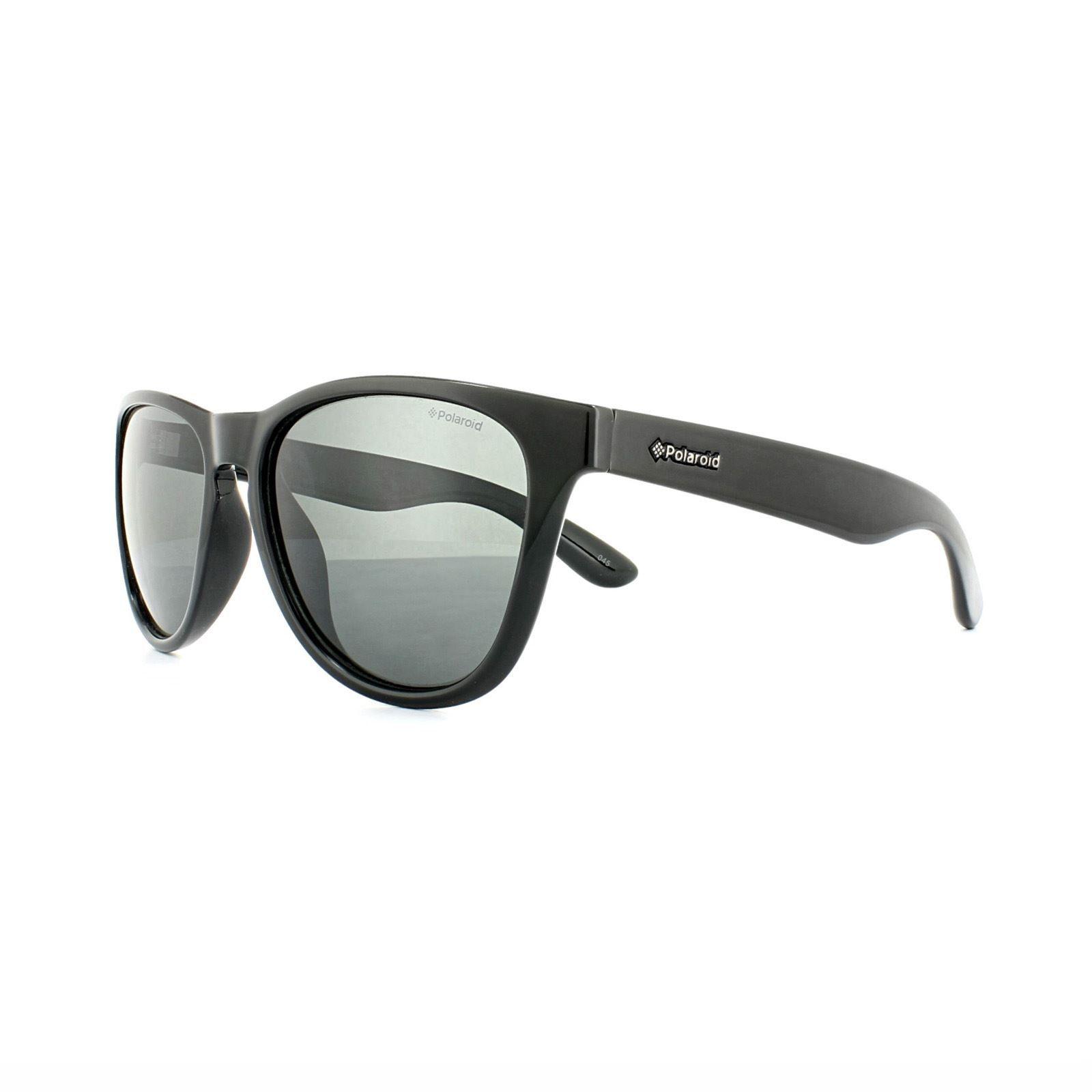 Polaroid Sunglasses PLD 1007/S D28 Y2 Shiny Black Grey Polarized
