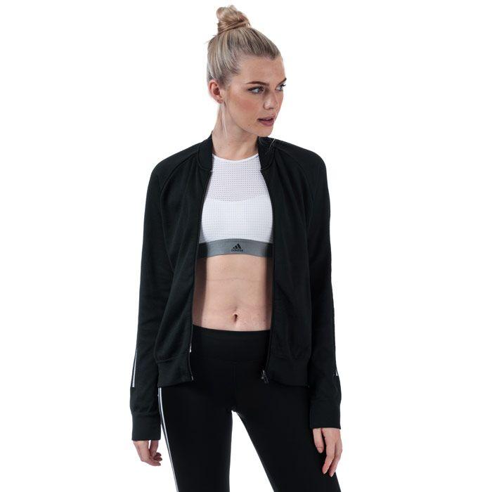 Women's adidas ID Bomber Jacket in Black