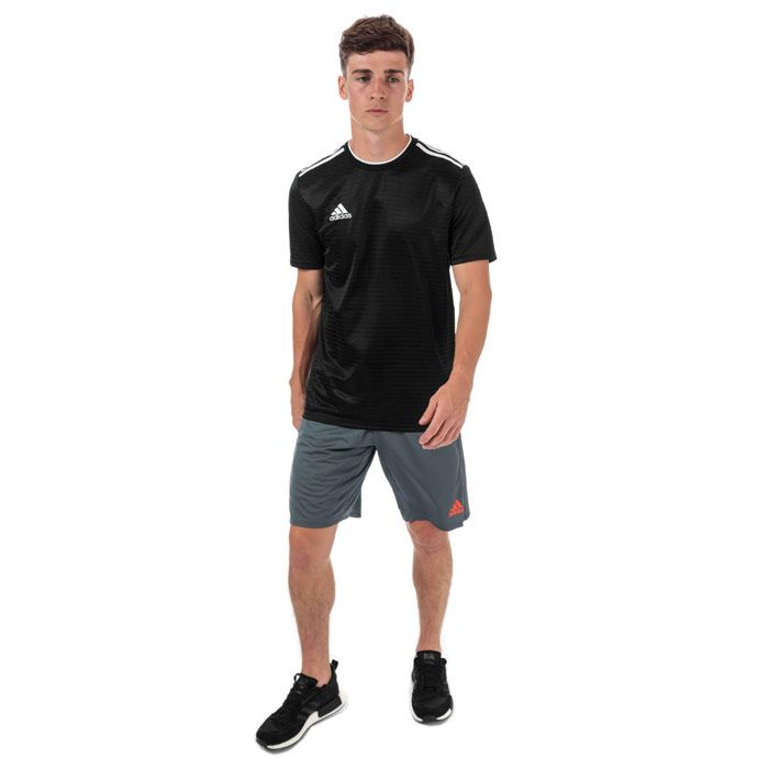 Men's adidas Condivo 18 Jersey in Black-White