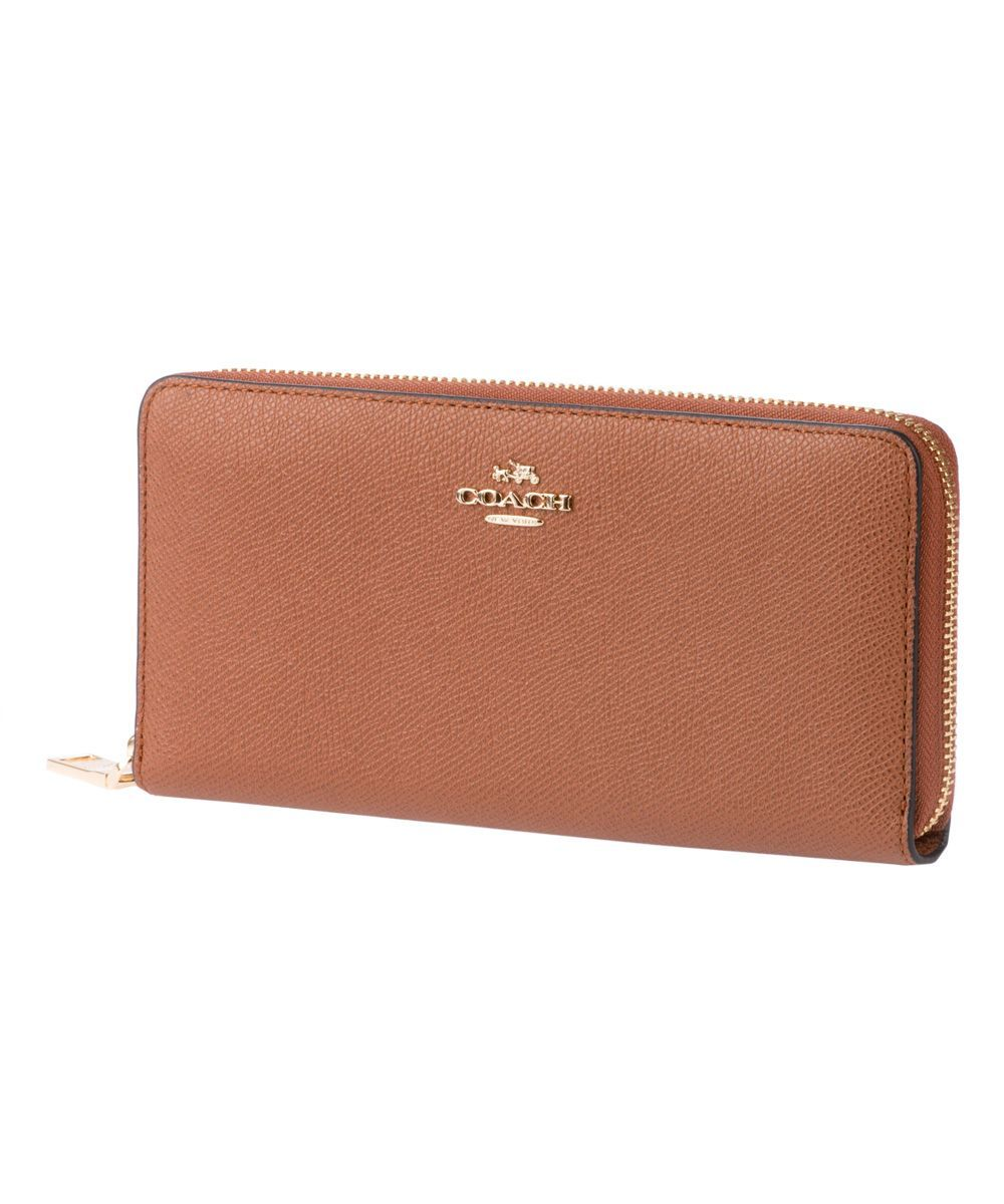 COACH WOMEN'S 52372LISAD BROWN LEATHER WALLET