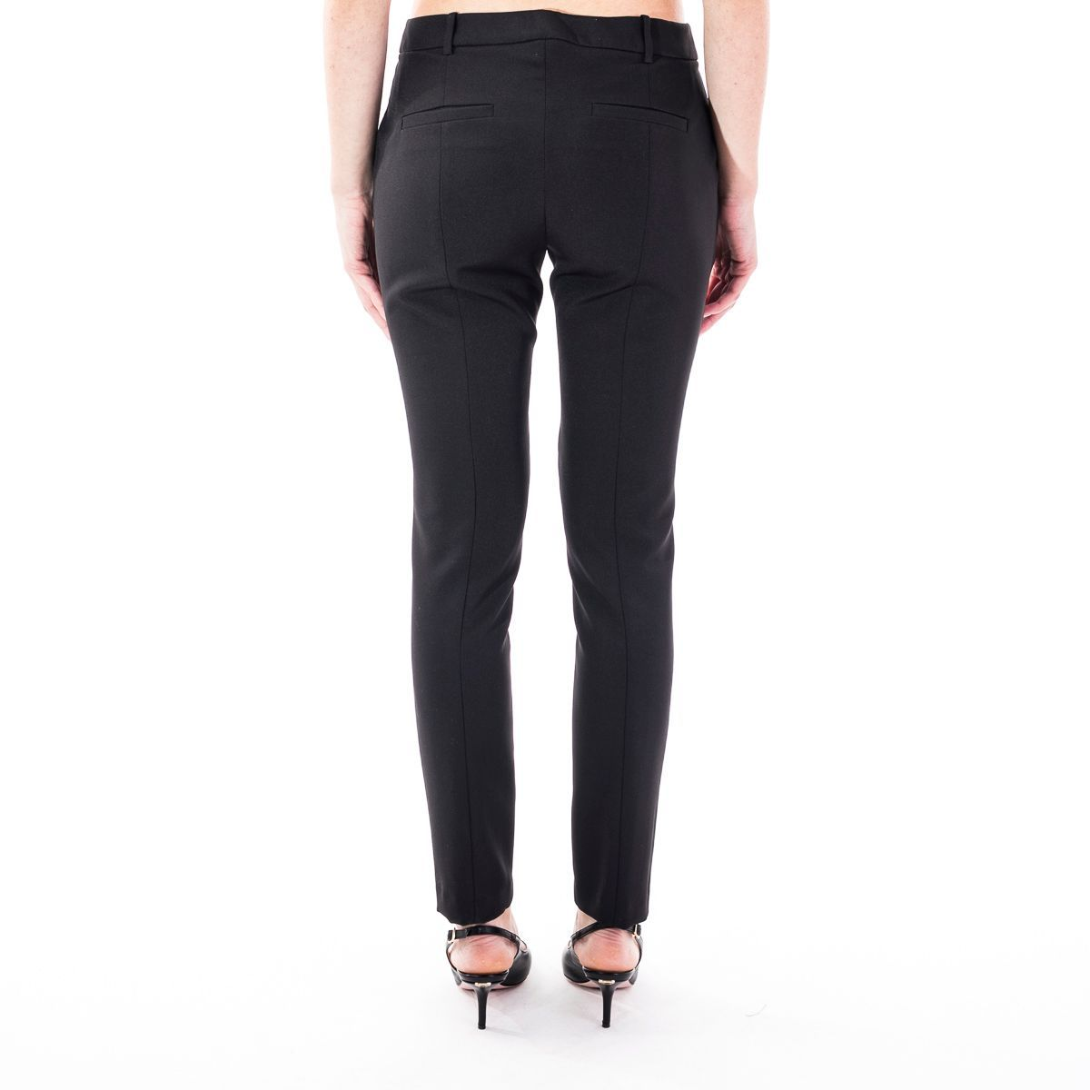 LIU JO WOMEN'S PA0064T789622222 BLACK POLYESTER PANTS