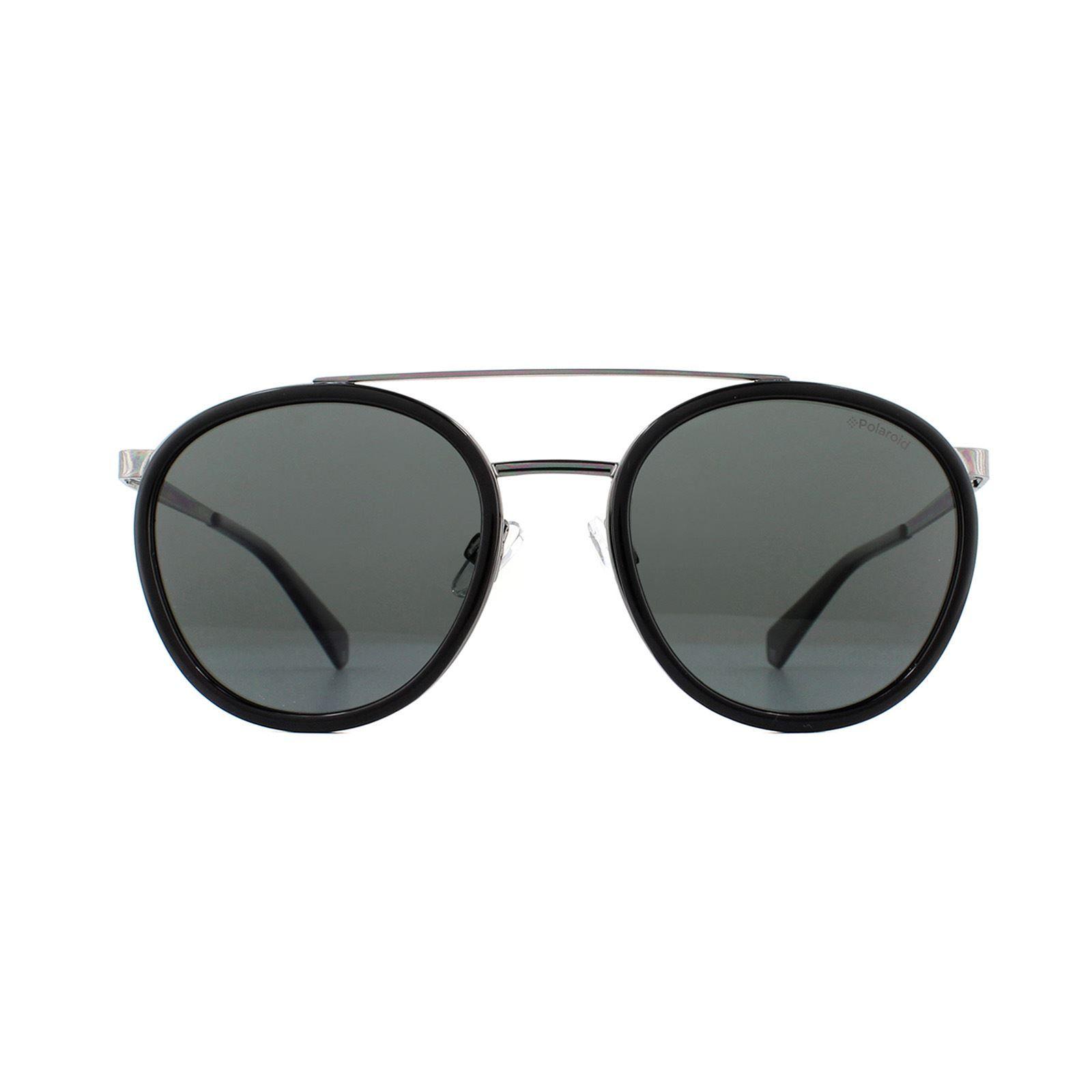 Polaroid Sunglasses PLD 6032/S 807 M9 Black Grey Polarized